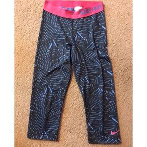 Nike Spandex Capri legging